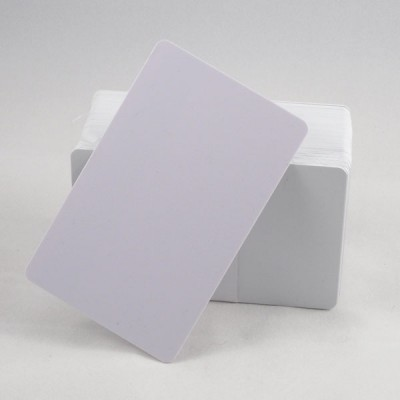 White ISO 13.56MHz RFID cards